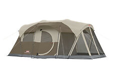 NEW COLEMAN WeatherMaster 6 Person Family Camping Screened Tent WeatherTec