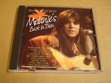 CD / MELANIE - MELANIE'S BACK IN TOWN - 20 GREATEST HITS