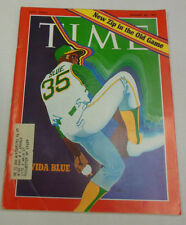 Time Magazine Vida Blue New Zip In The Old Game August 1971 031914r