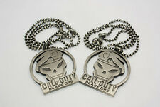 Call of Duty Cod7 Black Ops COD8 Mw3 Necklace Pendant Chain Dog Tag Necklace