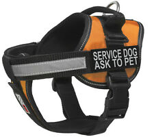 "SERVICE DOG Unimax Service Dog with Removable Reflective Patch Size 15"" - 46"""
