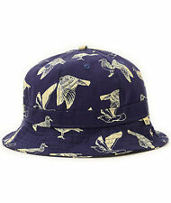 NEW OBEY GULLS BUCKET HAT NAVY ONE SIZE