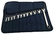 BRITOOL HALLMARK 12 PIECE HEXAGON COMBINATION SPANNER SET IN WALLET CEHMSET12