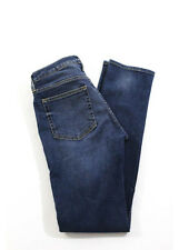 Acne Medium Blue Wash 5 Pocket Straight Leg Jeans Size 30