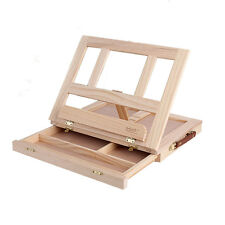 Paiting Adjustable tabletop with drawer folding wood easel box