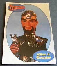 THUNDERBIRDS ALLIES AND ENEMIES F15 - THE ZOMBITES - Cards Inc. ** Foil Chase