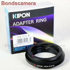 Kipon Olympus PEN F lens To Canon EOS M EF-M Mount Mirrorless Adapter M2 M3 M10