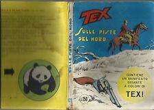COLLANA TEX GIGANTE  N. 122_DICEMBRE 1970_SULLE PISTE DEL NORD_CON MANIFESTO