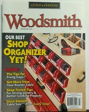 Woodsmith June July 2016 Best Shop Organizer Yet Tested Tips FREE SHIPPING sb