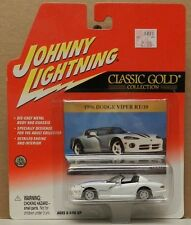 VIPER WHITE 1996 ROADSTER RT/10 96 BOYS DODGE MOPAR JL JOHNNY LIGHTNING