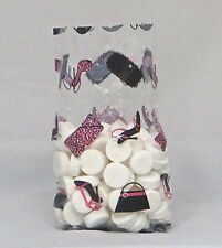 Diva Shoes Cello Bag Cellophane Bags, Pack of 25 Treat Bags, FREE SHIP