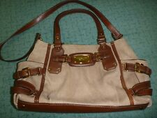 Michael Kors Gansevoort brown Satchel