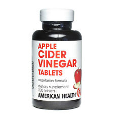Apple Cider Vinegar, 240mg, 200 Tablets - American Health