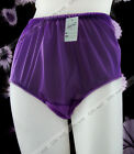 "Full Briefs Panties Nylon Knickers Underwear Fit for Hip 44-49"" 3XL"