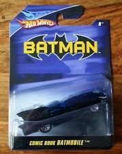 Hotwheels batman 1:50 scale - 2007-comic book batmobile-uber rare, brand new