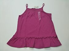 Gap Girls Size 2XL (14-16) Purple Smocked Tank Top Shirt New