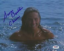 SUSAN BACKLINIE AUTOGRAPHED SIGNED JAWS CHRISSIE PSA/DNA 8X10 PHOTO