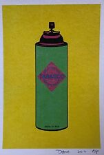 "Death NYC - Pepper Spray ""Rare Limited Edition Signed Graffiti Print"""