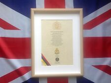 RAMC Oath Of Allegiance Cap Badge And Sovereign's Shilling