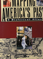 Mapping America's Past: A Historical Atlas, Mark C. Carnes, 1996 1st w/DJ