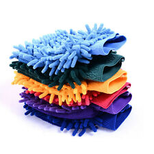 Soft Car Wash Washing Chenille Mit Cleaning Glove Car Home Clean Tool
