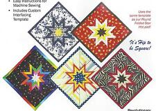 Folded Star Squared Hot Pad Pattern by Plum Easy Patterns