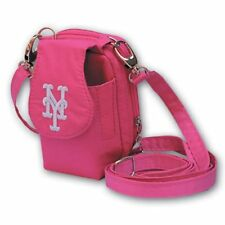 New York Mets MLB Purse Plus Pink Breast Cancer Phone ID Case Wallet Charm 14