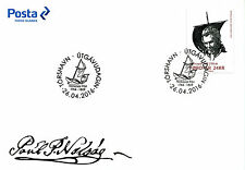 Faroe Islands Faroes 2016 FDC Nolsoyar Pall 1v Cover Boats Ships People Stamps