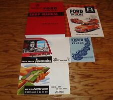 1952 Ford F-Series Truck Shop Manual Owners Sales Brochure 5 Piece Lot 52