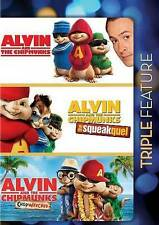 Alvin Chipmunks Triple Feature (Alvin and the Chipmunks / Alvin and the chipmunk