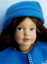 "Heidi Ott Little Ones 12"" LOVELY Dark Hair GIRL, Mint, No Box"
