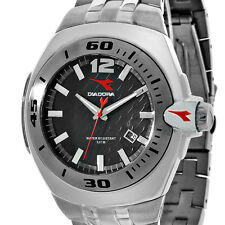 Diadora Italian Designer Stainless Steel Mens Watch New