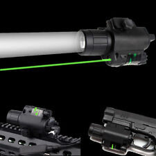 Tactical Green Laser Sight Scope CREE Q5 LED Flashlight Combo Picatinny Mount US
