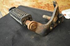 1987 HONDA  TRX 125 ATV RIGHT FOOTREST BRACKET BRAKE