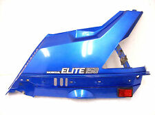 1985 HONDA CH150 D ELITE LEFT REAR COVER NASSAU BLUE METALLIC 83601-KN7-670ZC