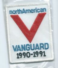 North American Van Lines Y Vanguard1990-1991 truck driver patch 4 X 3