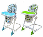 Bebe Style Modern Foldable Baby Recline Highchair Height Adjustable Feeding New