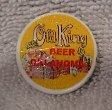 Colorized Coin - Oklahoma Old King Beer  - Washington Quarter Painted
