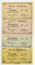 Norway/Moster Kommune ... SB-441-4 … 1-10 Kroner … 1940 … *VF-AU*
