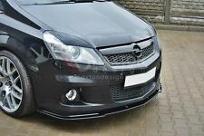 FRONT SPLITTER (GLOSS BLACK) FOR VAUXHALL/OPEL ZAFIRA B VXR (2005-2010)