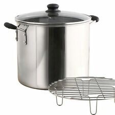 IMUSA GlobalKitchen  - 16 Qt Stainless Steel Steamer Tamales Seafood