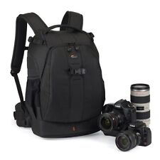 Black Details Lowepro Flipside 400 AW DSLR Camera Photo Bag Backpack & Weather
