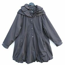 NEU SO RIRE Jacke Kapuze Jacket Veste Giacca Mantel Coat XL 48 50 Lagenlook