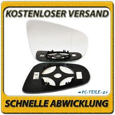 Spiegelglas für VW GOLF VI 2009-2012 rechts asphärisch beheizbar elektrisch