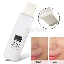 Rechargeable Ultrasonic Skin Scrubber Massage Facial Care Deep Peeling Cleaner