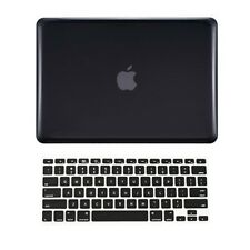 "2 in 1 Rubberized BLACK Hard Case for Macbook PRO 13"" A1278 with Keyboard Cover"