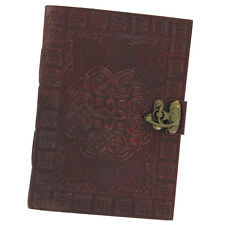 Celtic Circle Handmade Medieval Leather Blank Journal