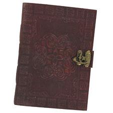 Celtic Circle Handmade Medieval Leather Blank Journal