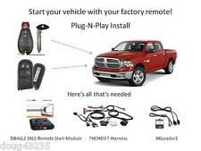 Plug-N-Play Remote Starter for 2013-2017 Dodge RAM -DBALL2-uses your OEM remotes