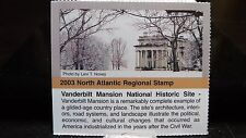 Passport 2003 North Atlantic Region Vanderbilt Mansion NHS Sticker